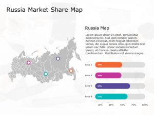 Russia Map PowerPoint Template 2