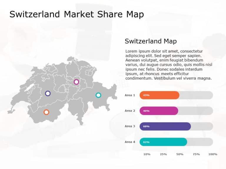 Switzerland Map PowerPoint Template 4