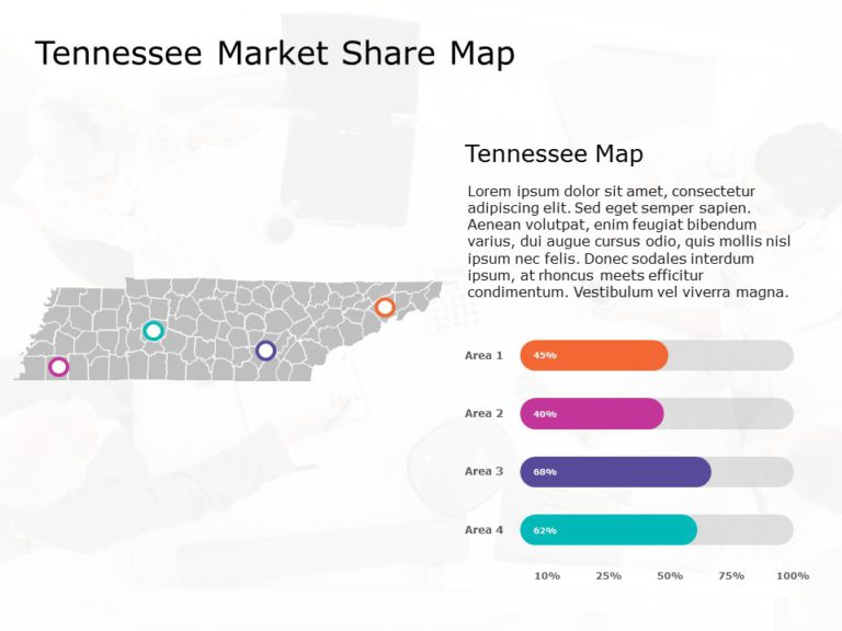 Tennessee Map PowerPoint 1
