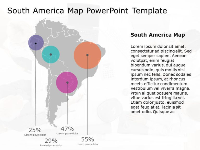 South America PowerPoint Template 8