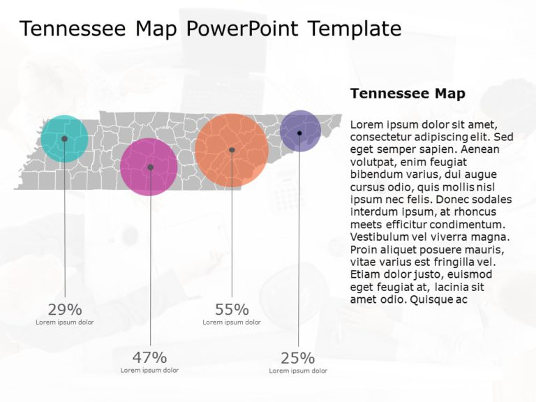 Tennessee Map PowerPoint 2
