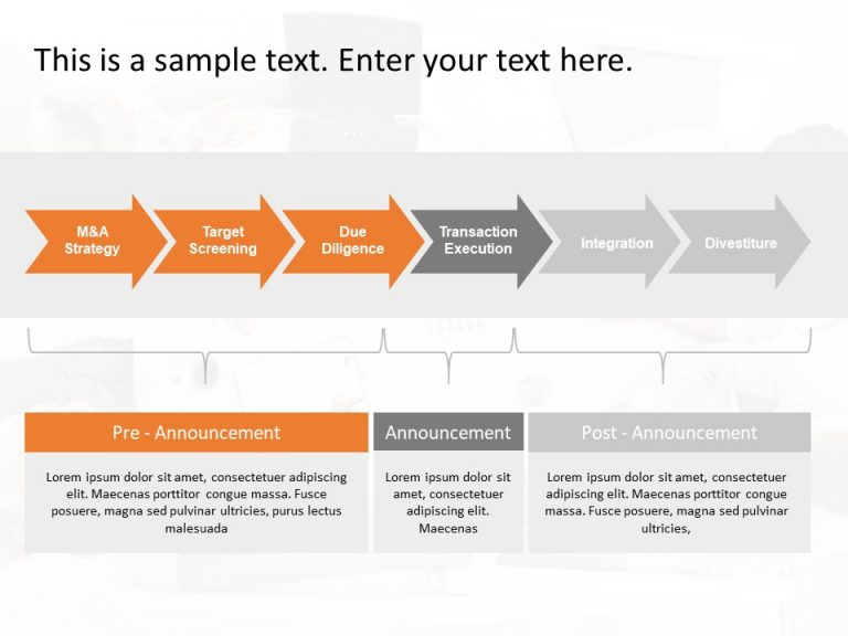 M&A Strategy PowerPoint Template