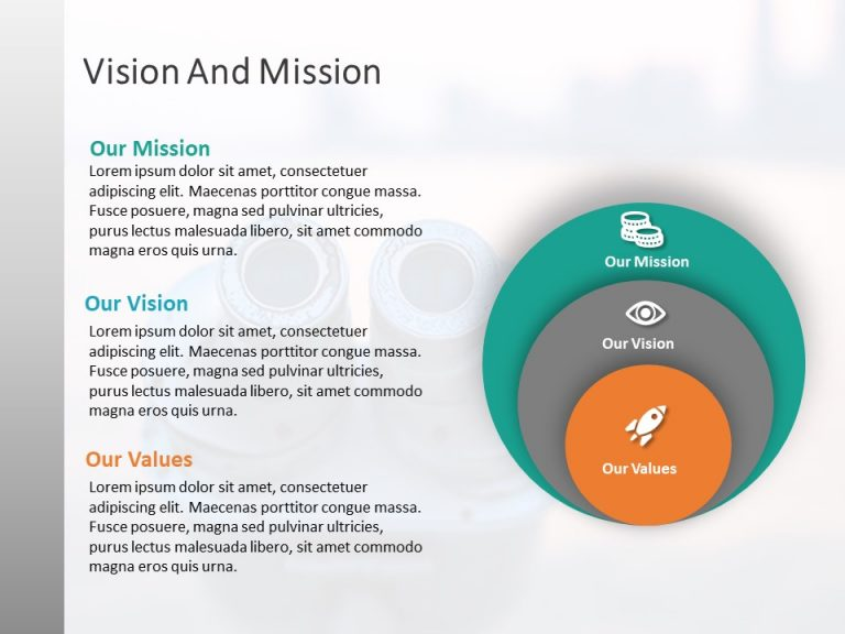 Mission Vision PowerPoint Template 3