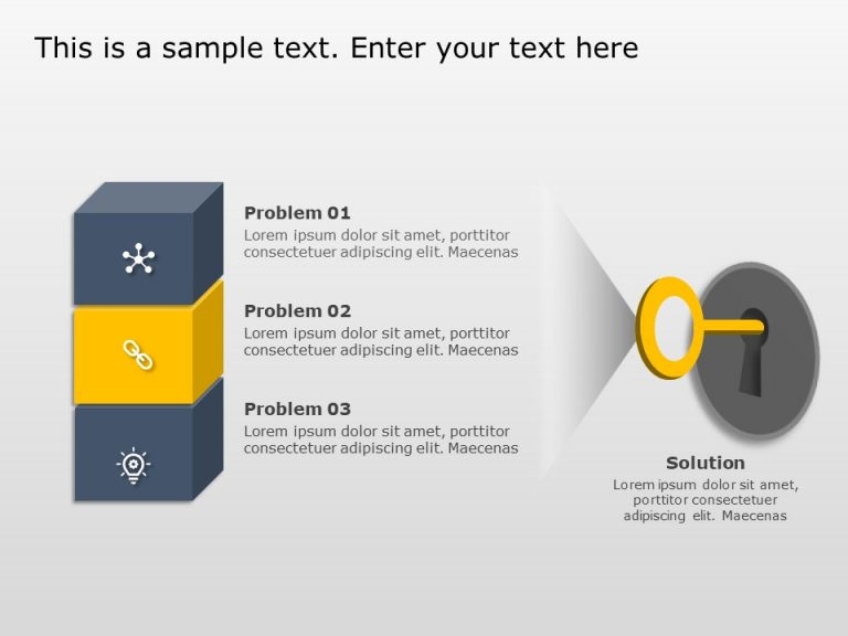 Problem and Solution PowerPoint Template 1