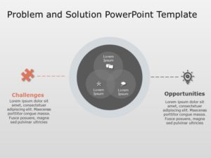 Problem & Solution PowerPoint Template 1