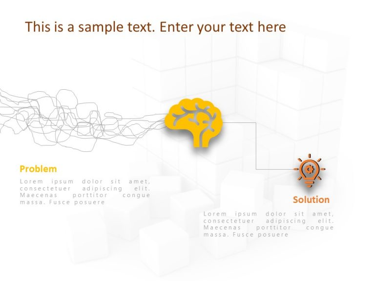 Problem & Solution PowerPoint Template 4