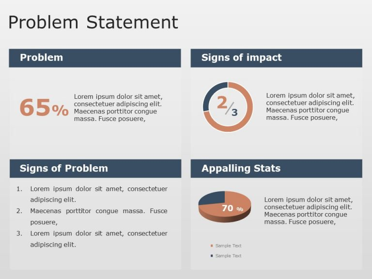 Problem Statement PowerPoint Template 3