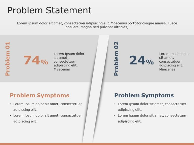 Problem Statement PowerPoint Template 6