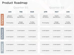 Product RoadMap PowerPoint Template 7