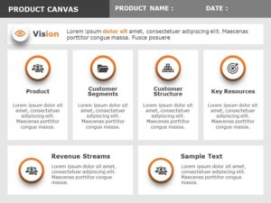 Product Vision Board Template 1