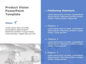 Product Vision Powerpoint Template