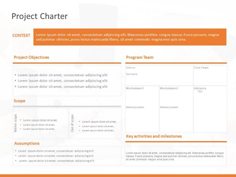 Project Charter Summary Template 1