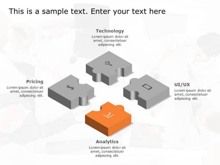 Puzzle PowerPoint Diagram 11