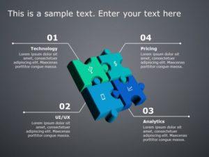 Puzzle PowerPoint Diagram 12