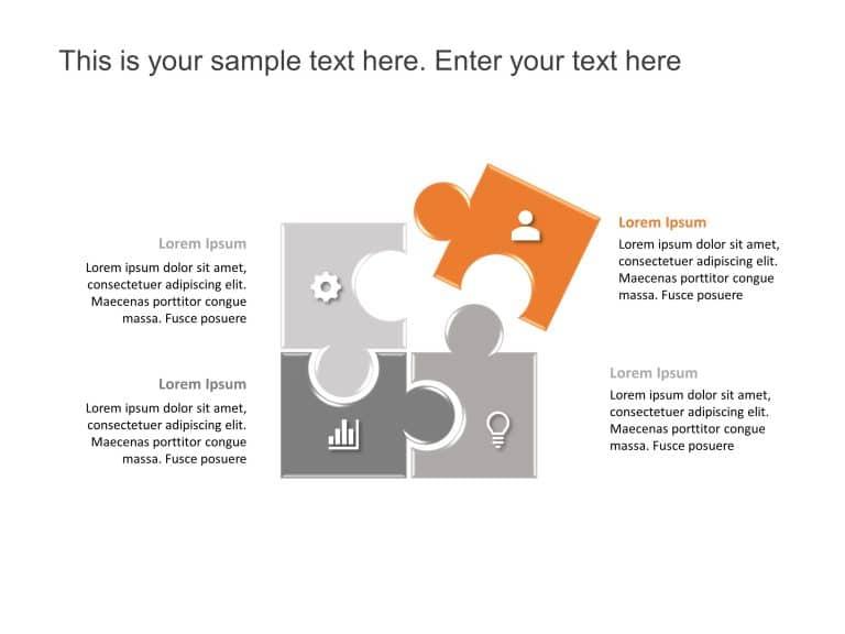Puzzle PowerPoint Diagram 22