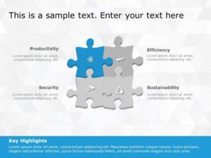 Puzzle PowerPoint Diagram 8