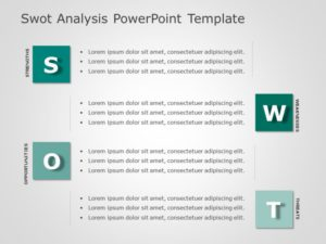 SWOT Analysis PowerPoint Template 12