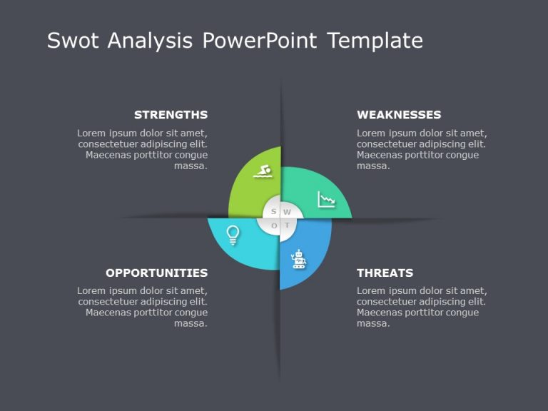 SWOT Analysis PowerPoint Template 14