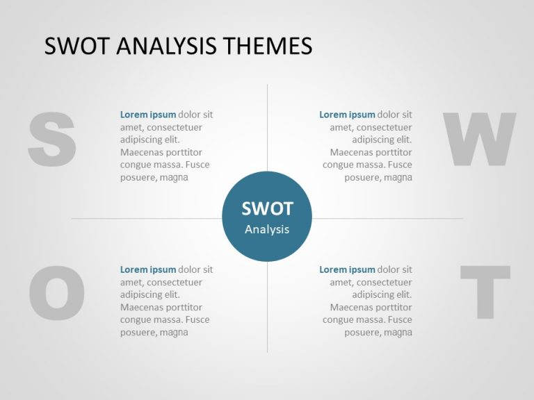 SWOT Analysis PowerPoint Template 17