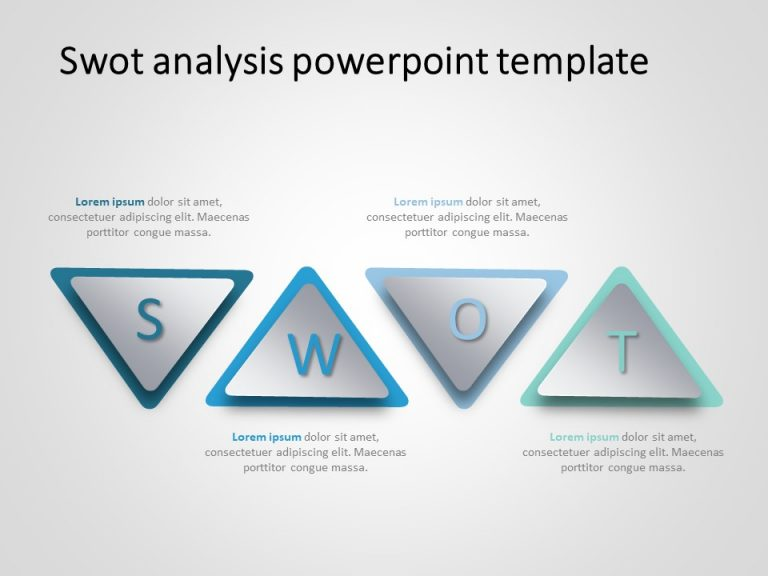 SWOT Analysis PowerPoint Template 22