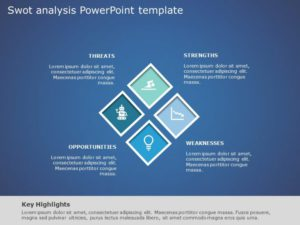 SWOT Analysis PowerPoint Template 24