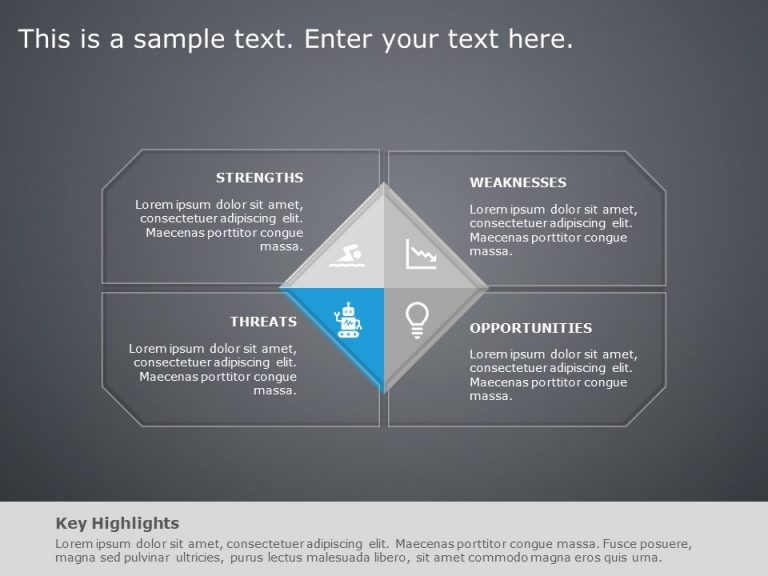 SWOT Analysis PowerPoint Template 26