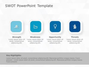 SWOT Analysis PowerPoint Template 37