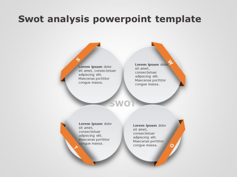 SWOT Analysis PowerPoint Template 4
