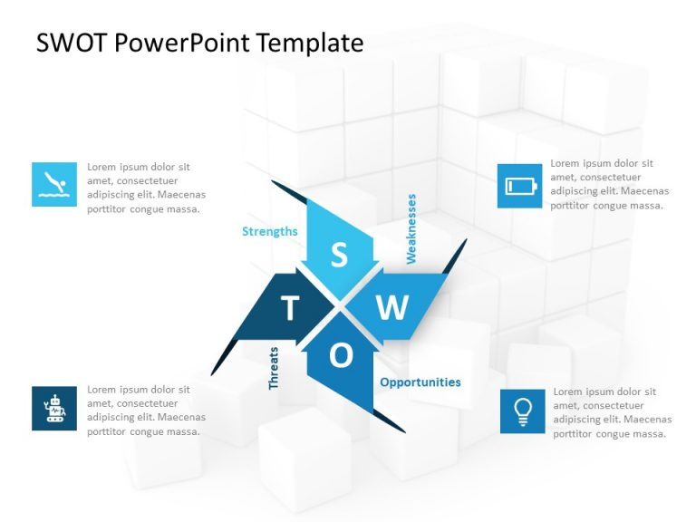 SWOT Analysis PowerPoint Template 40