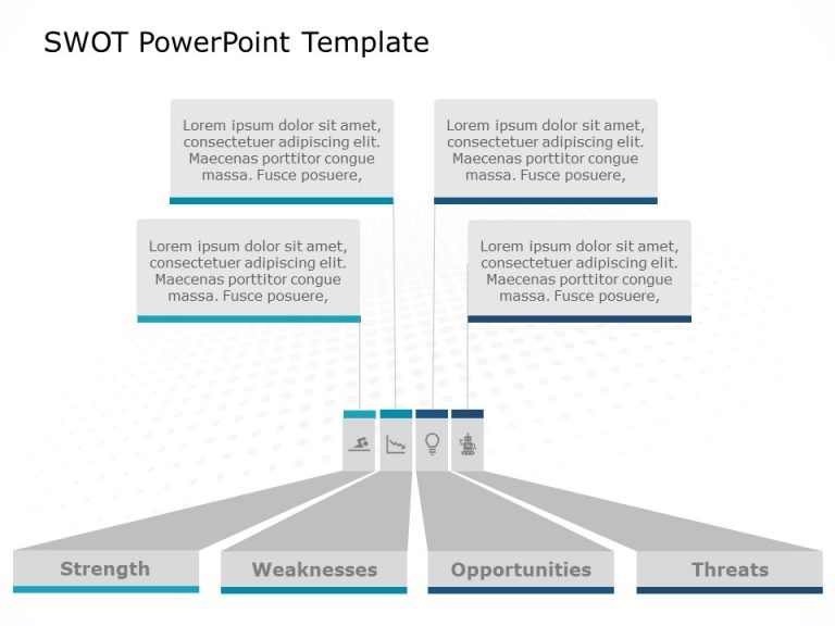 SWOT Analysis PowerPoint Template 42