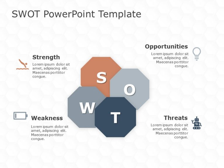 SWOT Analysis PowerPoint Template 43
