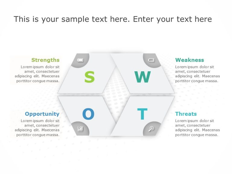 SWOT Analysis PowerPoint Template 45