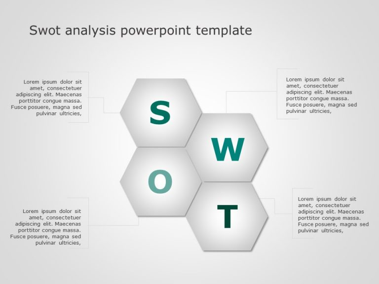 SWOT Analysis PowerPoint Template 5