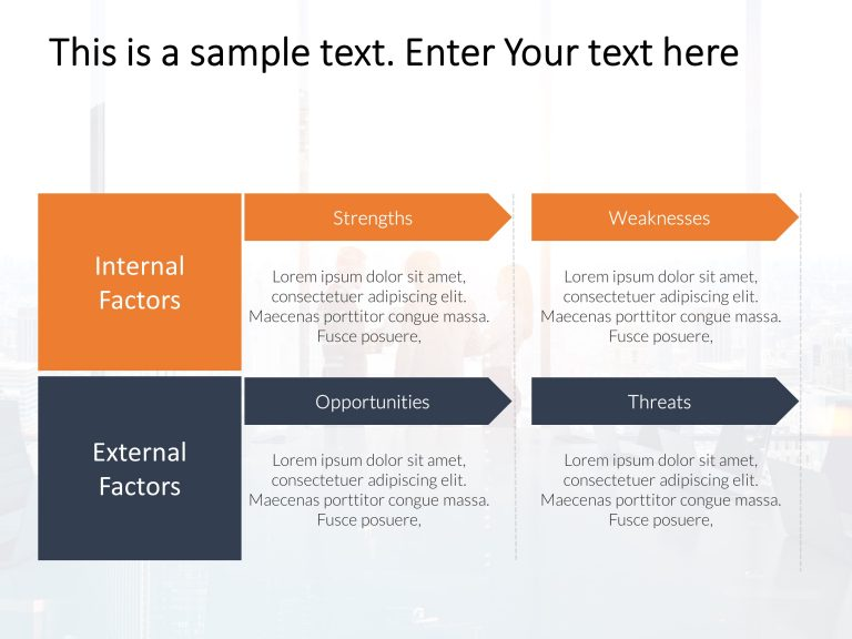 SWOT Analysis PowerPoint Template 50