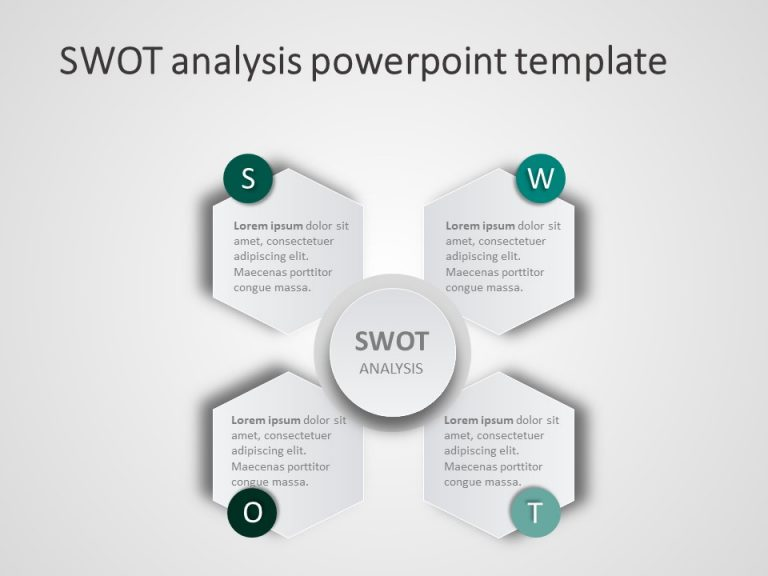 SWOT Analysis PowerPoint Template 6