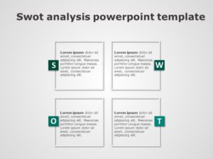 SWOT Analysis PowerPoint Template 8