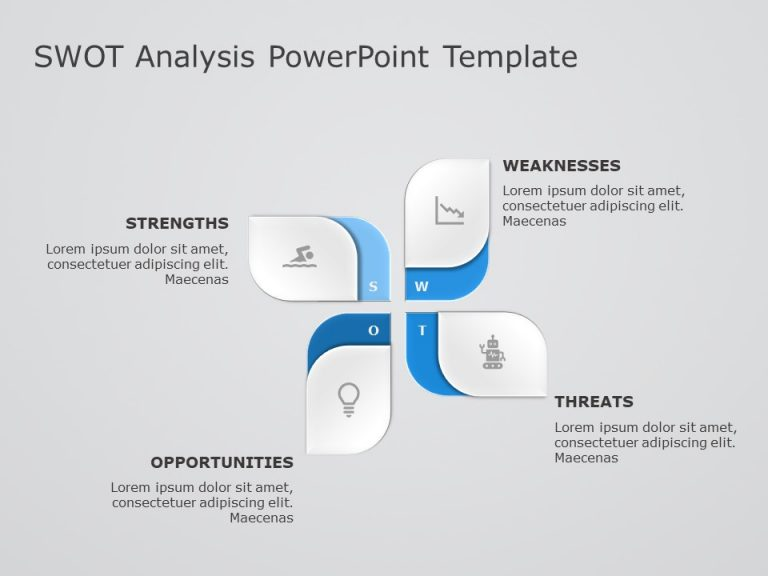 SWOT Analysis PowerPoint Template 9