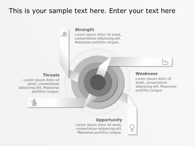 SWOT Concentric Circles Template