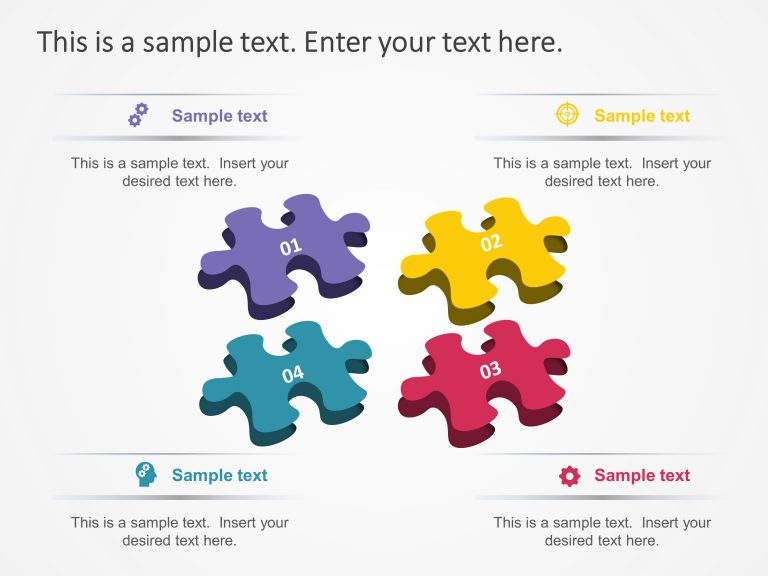 Strategy Puzzle PowerPoint