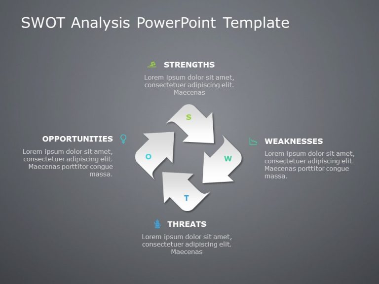 Swot Analysis Template For Powerpoint 1