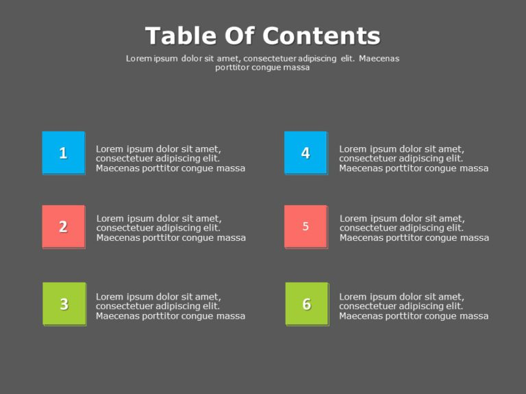 Table of Contents 02