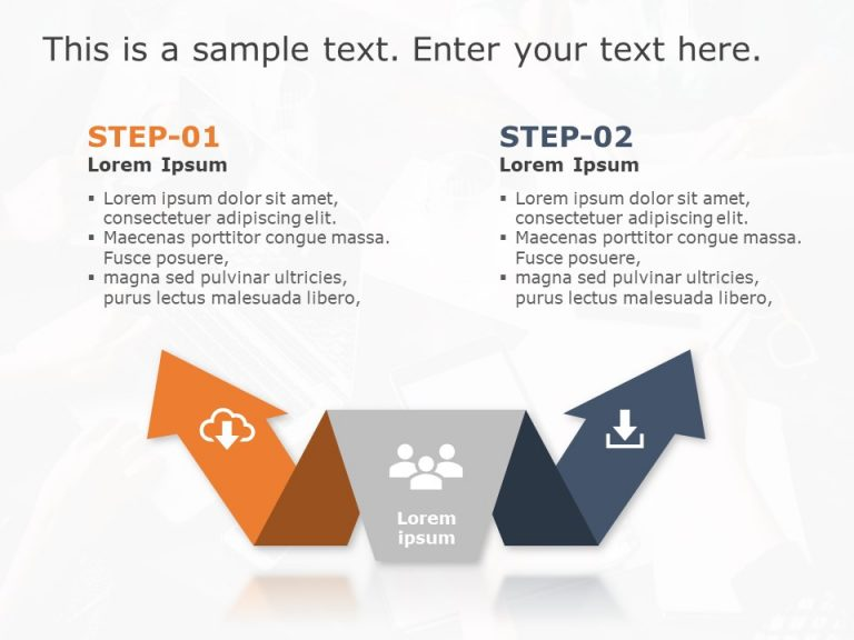 Two Options PowerPoint Template