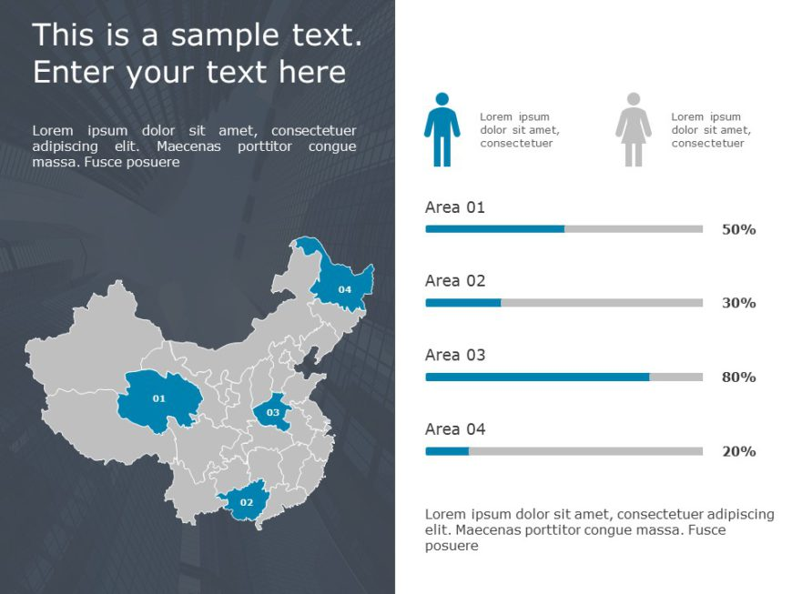 China Map PowerPoint Template
