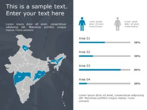 India Map Powerpoint Template 4