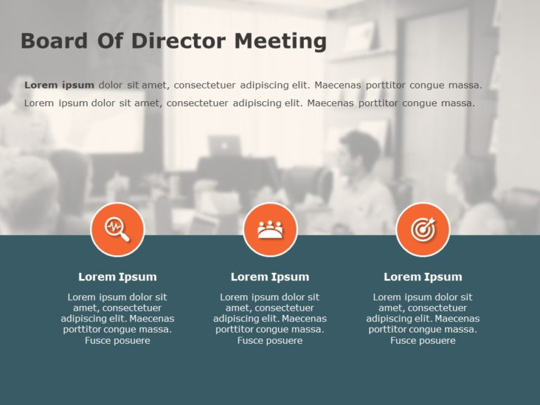 Board of Director Meeting