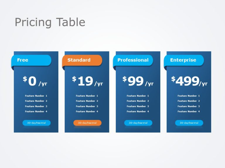 Pricing Table 02