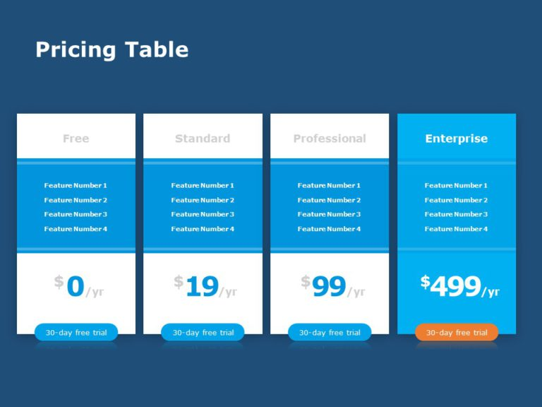 Pricing Table 03